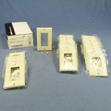 25 Cooper Light Almond 1-Gang Decorator GFCI Cover Thermoset Wallplates 2151LA