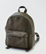 American Eagle Bag AEO Mini Backpack Grommet Mini  Olive / Dark Green Bag New