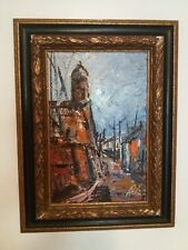 """Impressionist Oil Painting signed 16"""" x 12"""""""