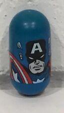 Marvel Mighty Beanz Bean #2 Captain America Avengers Moose 2003 2004 FREE Ship