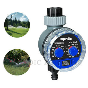 Electronic Water Tap Timer For Garden Hose AUTO Watering Irrigation Controller
