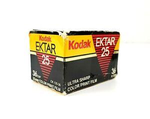 Kodak Ektar 25 Speed 35 mm 36 Exposure Sharp Color Print Film Expired Vintage