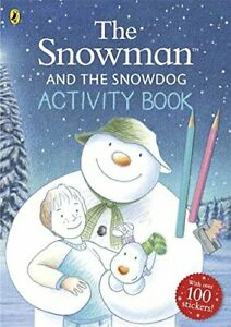The Snowman and The Snowdog Activity Book,Raymond Briggs