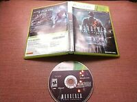 Microsoft Xbox 360 Disc Case No Manual Tested Murdered Soul Suspect Ships Fast