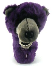 Daphane KNIGHTS OF COLUMBUS Big Fuzzy Purple BEAR K of C Golf Club Headcover