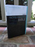 WIDE MARGIN NIV Bible ~ New international Version ~ Black Letter Text!