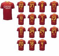 Maglia Calcio Ufficiale Roma 2019- 2020 CARATTERI UFFICIALI Scegli Giocatore