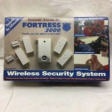Vintage Wireless Security System by Dynamic Alarms Inc. Fortress 2000