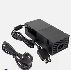 Xbox One Power Supply PSU Brick AC Adapter with UK 3-Pin Power Cable NEW