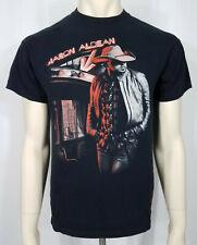 Anvil Jason Aldean Burn it Down 2014 black Concert Tour T-Shirt adults Medium