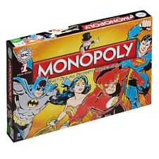 DC Comics Retro Monopoly Board Game  BRAND NEW SEALED BATMAN/SUPERMAN