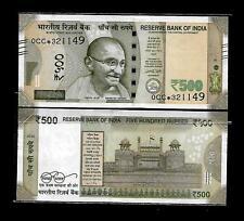 Rs.500/- Urjit Patel  Star Note 'M' Inset  Prefix 0CC  2018 - UNC  LATEST