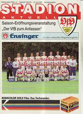 BL 91/92 VfB Stuttgart - Special edition the Season 91/92