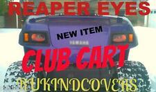 CLUB CART GOLF CART REAPER Eyes CUSTOM RuKindCover's HeadLight Covers