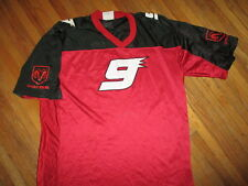 KASEY KAHNE FOOTBALL JERSEY Dodge 9 Car NASCAR Auto Racing Red Black XL