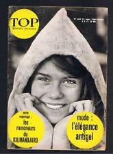 TOP REALITES JEUNESSE N°269 1964 tiny young laurent terzieff pub jouet heller