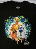 Star Wars Celebration Anaheim 2020 Droids C3po R2D2 Tshirt L XL 2XL