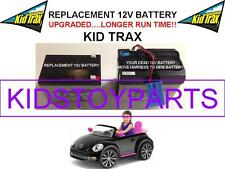 VW BEETLE OEM REPLACEMENT KID TRAX 12 VOLT RECHARGE BATTERY