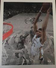 Anthony Davis Signed Autographed 16x20  Photo Kentucky Pelicans PSA/DNA COA