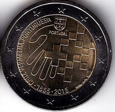 2 € euros - PORTUGAL 2015 150 Años Cruz Roja S/C Portogallo UNC Unzierkuliert