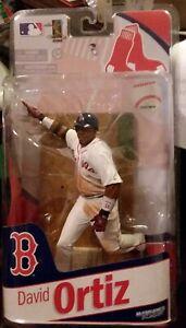 Boston Red Sox Great #34 David Ortiz DH Action Figure McFarlane 2010 NIP
