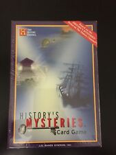 History's Mysteries Card Game Based on the Series on The History Channel B10
