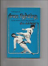 Shin Duk Kang Techniques in Free Fighting 2nd print 1980 PB Martial Arts Defense