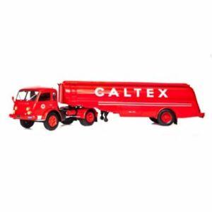 Saviem Tancarville CALTEX Renault 1:43 Trailer truck Ixo Altaya Diecast