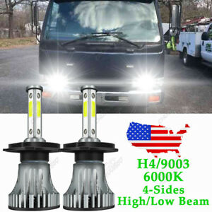 LED Headlight Light Bulb Conversion Kit for Nissan UD 1800 2000 2300 2600 3300