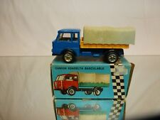 PENNY 0/113 ESADELTA DUMPER TRUCK + COVER - BLUE 1:66 - GOOD CONDITION IN BOX
