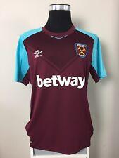 West Ham United Home Football Shirt Jersey 2017/18 (XL)