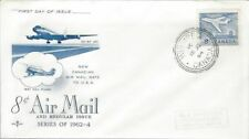 1964 #436 Jet Definitive FDC with Rose Craft cachet 3 Ring Winnipeg