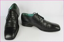 Derby shoes TED BAKER All Leather Black Turquoise UK 9/US 10/FR 43