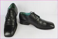 Zapatos oxford TED BAKER En Piel Negro Turquesa UK 9/US 10/FR 43 MUY BUEN ESTADO