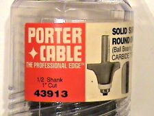 Porter Cable Round Over Bowl 43913 Carbide Tipped Router Bit