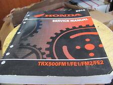 OEM Honda TRX500FM1 FE1 FM2 FE2 Service Manual 1700201309