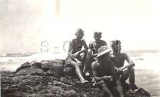 WWII German DAK RP- Afrika Korps- Africa- Libya- Semi Nude Soldier- Pith Helmet