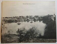 NEW GIANT Vintage Postcard Encanto Park, Phoenix Arizona 9 x 7 Black & White
