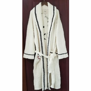 New Barefoot Dreams CozyChic Robe Cream SZ 1