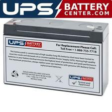 Ultracell Ul12-6 6V 12Ah F1 Replacement Battery