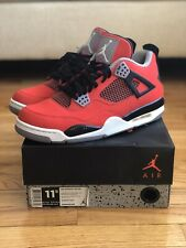 Air Jordan 4 IV Retro Toro Bravo Fire Red Cement Red White 308497-603 Size 11.5