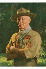 """7181263 12""""x8"""" (30x20cm) Print of Chief Scout Lord Baden Powell"""
