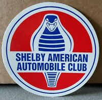 Shelby American Automobile Club Aufkleber SAAC sticker 64 mm