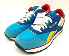 🔥Split Size 8 & 9 Reebok Classic Rolland Berry Blue Yellow Red Sneakers Shoes