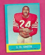 1963 TOPPS # 135 SAN FRANCISCO JD SMITH NRMT CARD (INV# C3788)