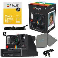 Polaroid OneStep+ i-Type Instant Camera with i-Type Color Film Pack & Cloth