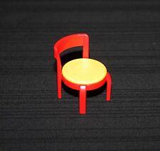 Playmobil vie quotidienne chaise rouge et jaune 3989 3926 4062 4283 7395 5606