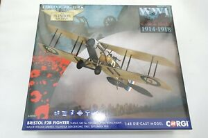 CORGI AVIATION 1:48 BRISTOL F2B FIGHTER NO 139 SQN ROYAL FLIGHT ITALY 1918