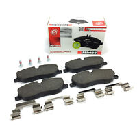 FERODO OE FRONT BRAKE PADS + FITTING KIT: LAND ROVER DISCOVERY 3 04-09 BPS2928B