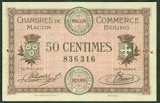 NECESSITE 50 CENTIMES CHAMBRE COMMERCE DE MACON BOURG ETAT : SPL  Lot 375